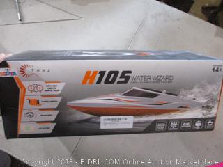 H105 Water Wizard RC Boat