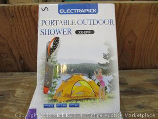 Electrapick Portable Outdoor Shower
