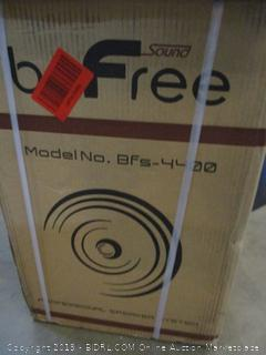 "beFree 12"" Wireless Recharageable Party Speaker"