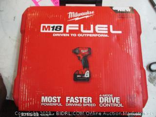 Milwaukee Fuel Hex Impact Drive Kit .