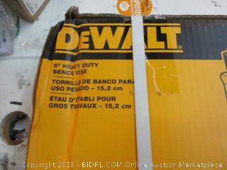 DeWalt Heavy Duty Bench Vise