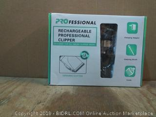 Professional Rechargeable Clippers