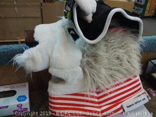Jolly Lama Costume Head