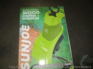 Sunjoe Wood Chipper + Shredder