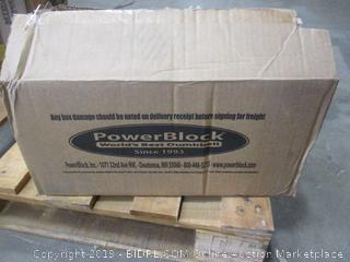 PowerBlock Elite Dumbbells (Retail $404.00)