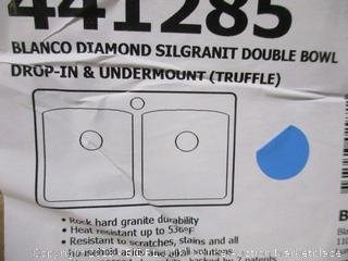 Blanco Diamond Silgranit Double Bowl Drop-in & Undermount Sink