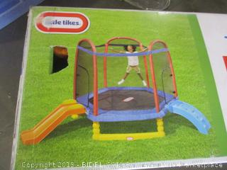 Little Tikes Climb 'n Slide 7 ft Trampoline