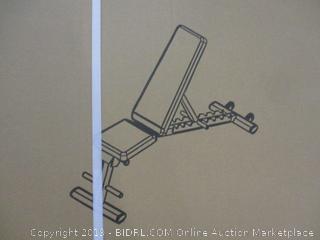 Gymenist Adjustable Sit Up Bench