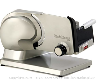 Chef'sChoice 615A Electric Meat Slicer (Online $142)