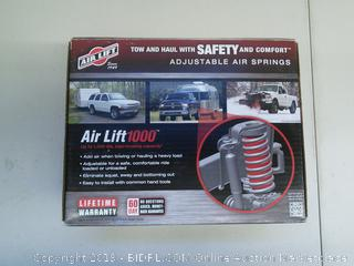 Air Lift 1000- Adjustable Air Springs