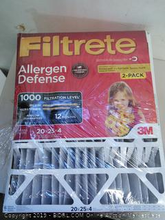 Filtrete Allergen Defense Air Filter