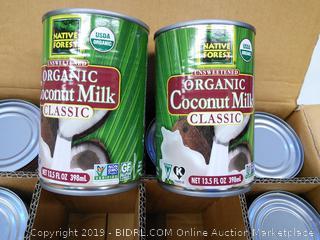 Organic Coconut Milk-Classic 12 count