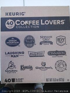 Keurig Coffee Lovers' Collection-40 K Cups