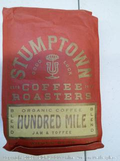 Stumptown Organic Coffee- Hundred Mile Jam and Toffee Blend