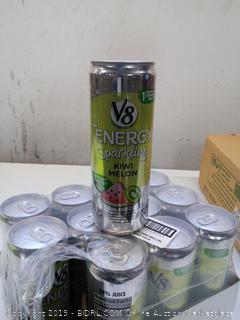 V8 Energy Sparkling Kiwi Melon