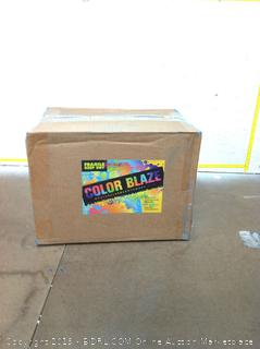 Color Powder Six Pack -30 Pounds for color fights/fun runs (online $127)