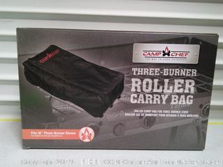 Three-Burner Roller Carry Bag