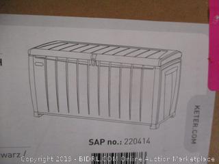 Keter Novel Deck Storage
