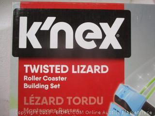 Knex Twisted Lizard Thrill Rides