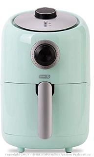 Dash DCAF150GBAQ02 Compact Air Fryer, Aqua 854940007670 (Online $55.99)