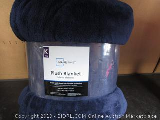 Mainstays King Plush Blanket