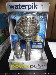 Waterpik Dual Power Pulse Shower Head