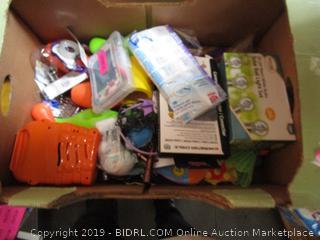 Box lot Misc. Toys