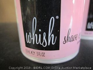 Whish Flawless Shave Quad, Shaving Cream (4 pack)