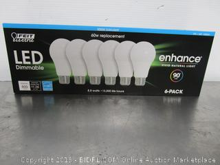 Feit LED Dimmable Enhance 8.8W/60W Daylight Light Bulbs