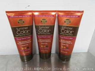 Color Tanning Lotion