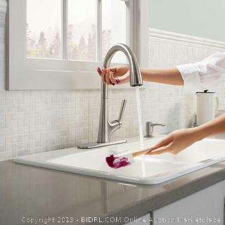 Kohler Malleco Touchless Stainless Steel Kitchen Faucet (retail $249)