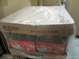 Kool Aid Bursts Cherry Juice Bottles (6.75 oz Bottles, 8 Packs of 6)