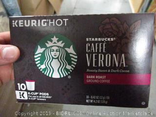 Starbucks Caffe Verona Dark Roast K-Cup Pods