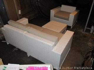 Outdoor Furniture Set  See Pictures