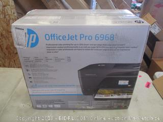 HP OFFICEJET PRO 6968 PRINTER (POWERS ON)