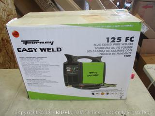 FORNEY EASY WELD FLUX CORED WIRE WELDER (POWERS ON)
