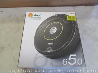IROBOT ROOMBA 650 (POWERS ON)