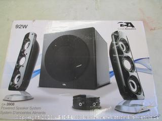 CA POWERED SPEAKER SYSTEM