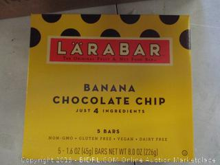 LARA BAR BANANA CHOCOLATE CHIP