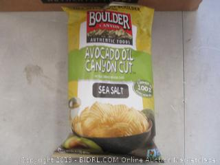 BOULDER CANYON CHIPS SEA SALT