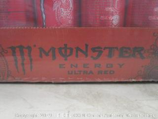 MONSTER ENERGY ULTRA RED ENERGY DRINK
