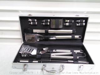 15 Piece BBQ Tool Set