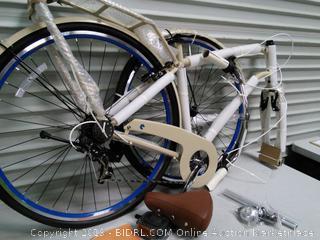 Cruiser Step-Thru 7 Speed Shimano Hybrid Bicycle (online $266)