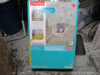 Fisher-Price  Elephant Safari Cradle n Swing (online $127)