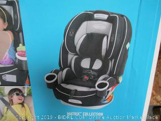 Graco 4Ever 4-in-1 Convertible Car Seat, Matrix (online $269)