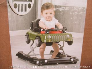 Jeep Classic Wrangler 3-in-1 Grow with Me Walker, Anniversary Green (online $78)