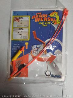 Drain Weasel DWPSK2B Hair Clog FlexiSnake Plastic Drain Stick