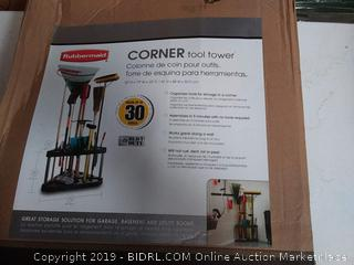 Rubbermaid Long-Handle Corner Storage Organizer
