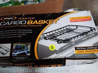 Cargoloc Rooftop CargoBasket 44in x 34in x4.5 in