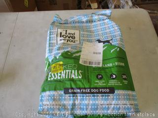 NAKED ESSENTIALS GRAIN FREE DOG FOOD